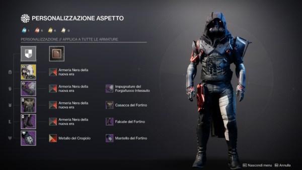 destiny 2 sintesi armatura