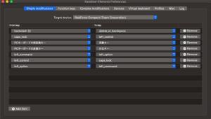 親指シフトユーザが東プレのキーボードをMacで使う設定する