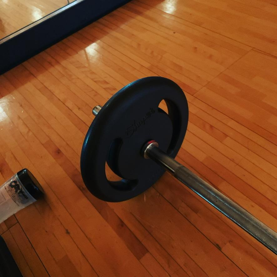 軽い運動のためのバーベル