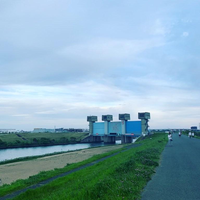赤羽岩淵水門