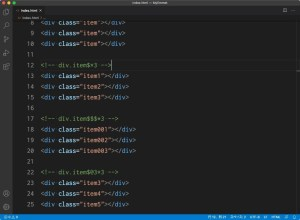 Visual Studio Code:Emmet記法を使って複数要素を入力する