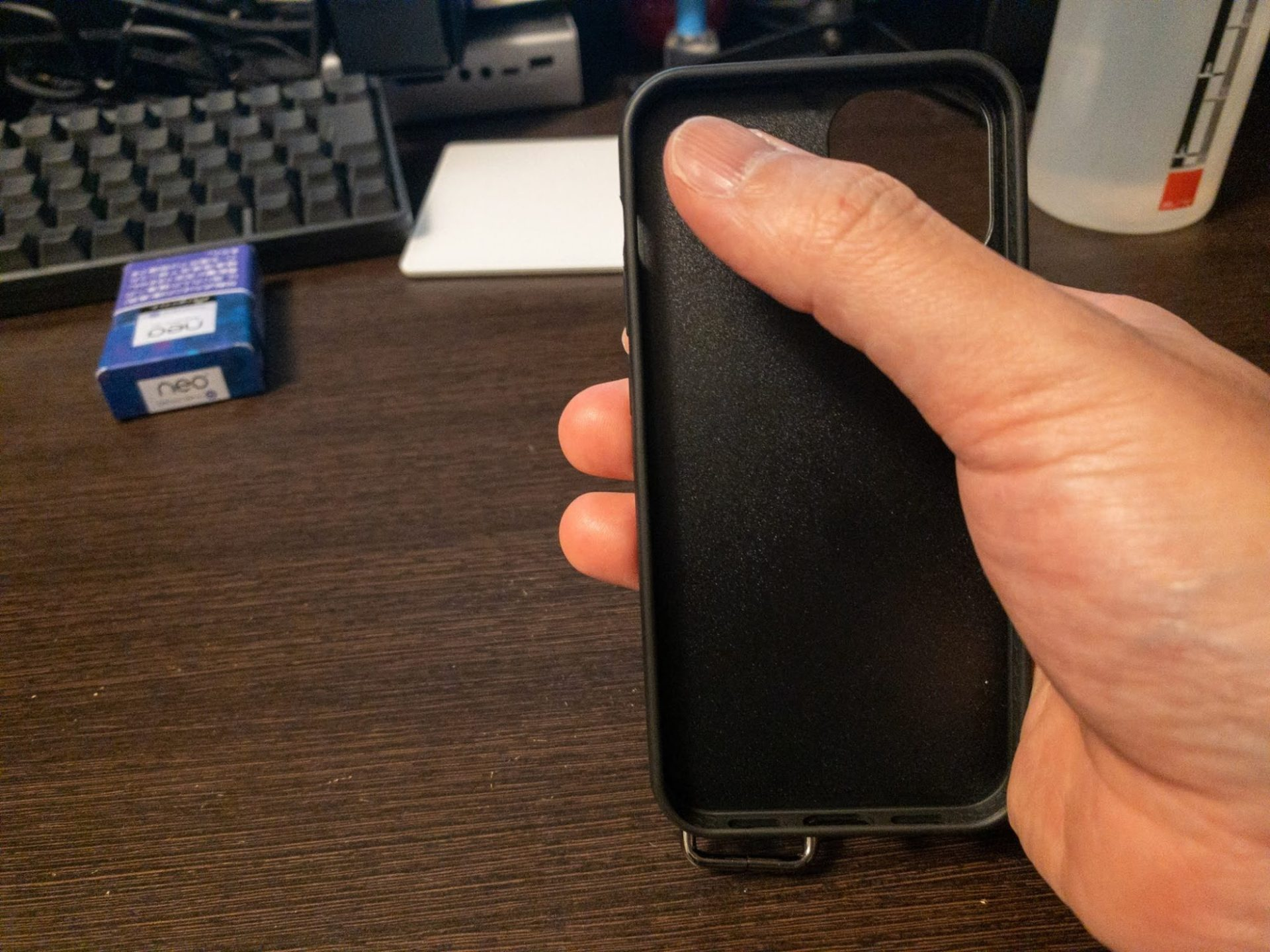 iPhone 12 miniのサイズ確認