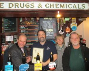 Peter Judge, Tony Rogers, Jackie Rogers and John Hartley