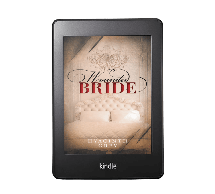 Wounded Bride by Hyacinth Grey 3D Kindle Mockup