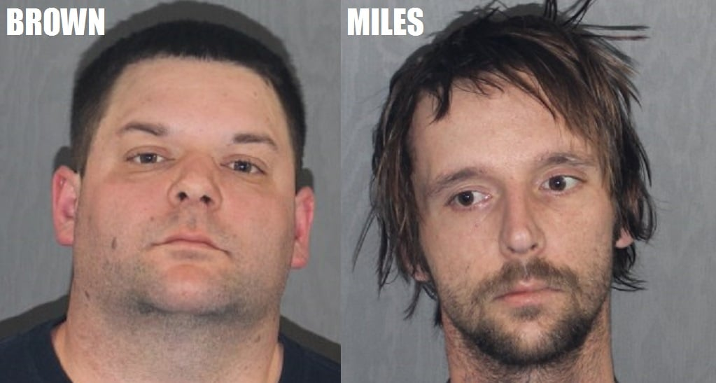 Two men charged with Heroin Distribution after overdose death