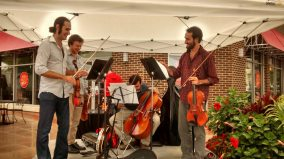 invoke Music Quartet. Credit: Hyattsville CDC