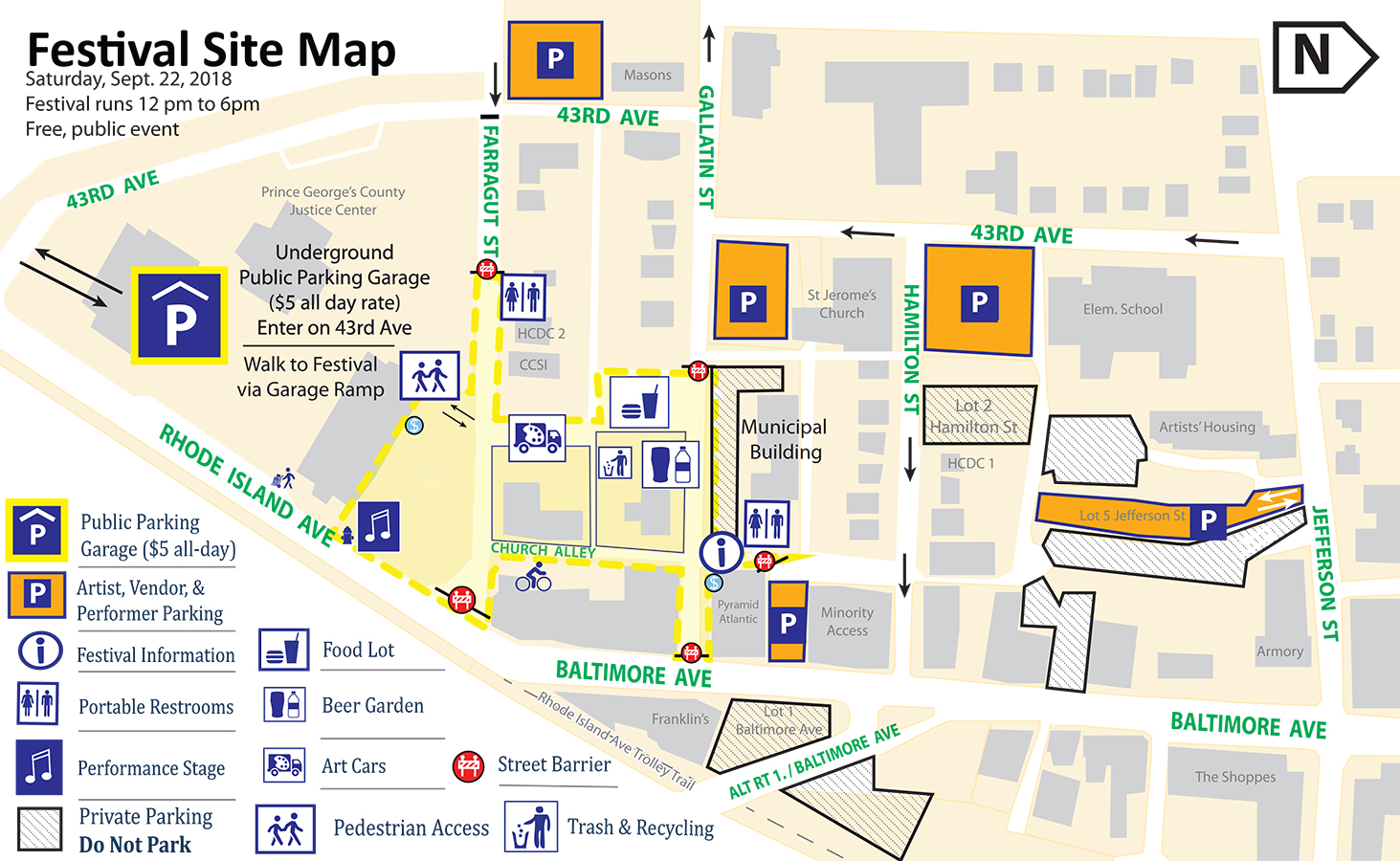 Parking & Directions - The Downtown Hyattsville Arts Festival