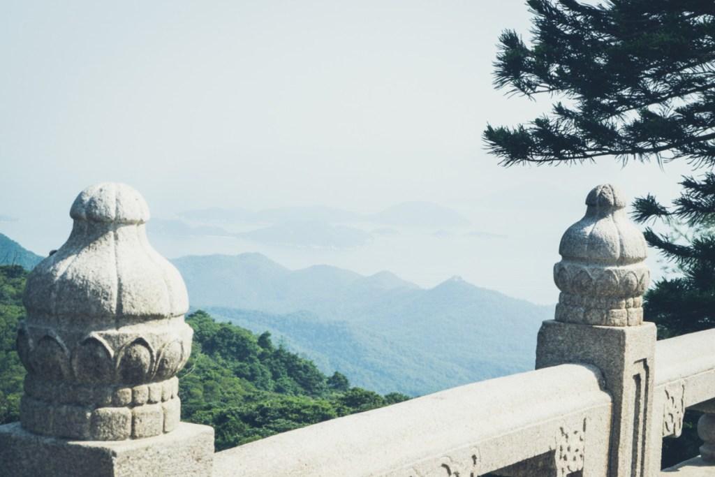 Výhľad z hora...taký ho má aj Big Budha