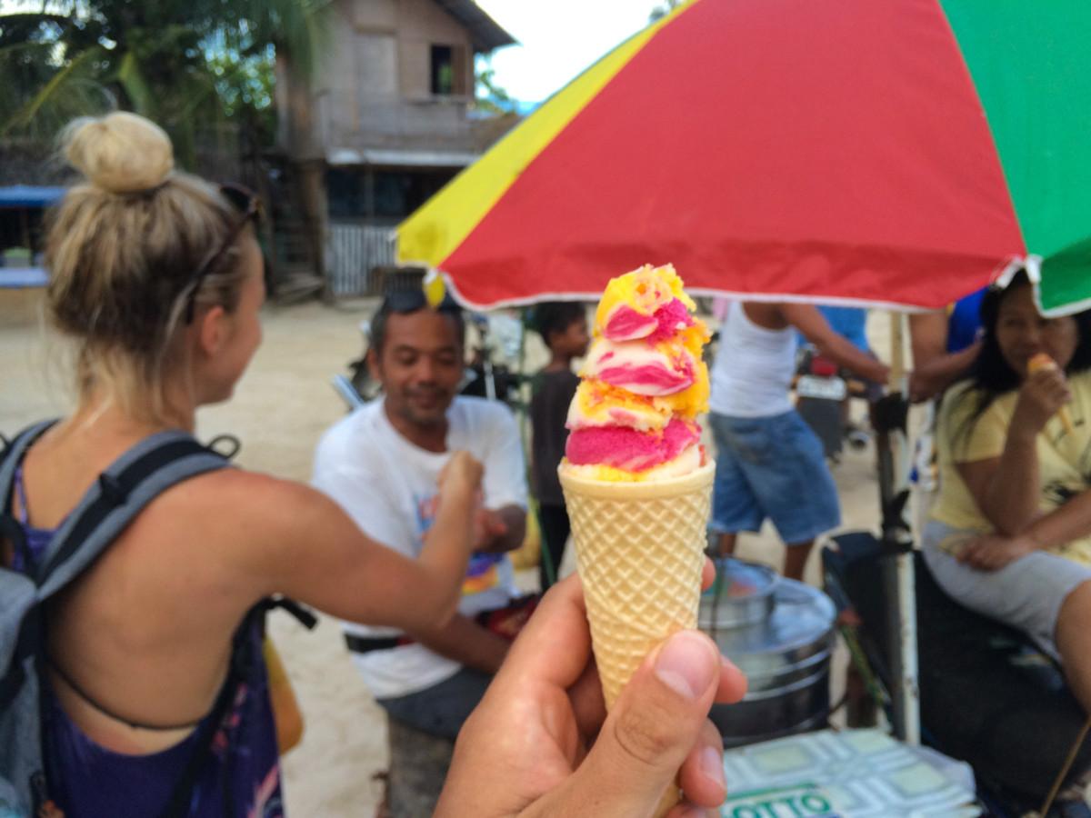 Lokálna Filipínska zmrzlina