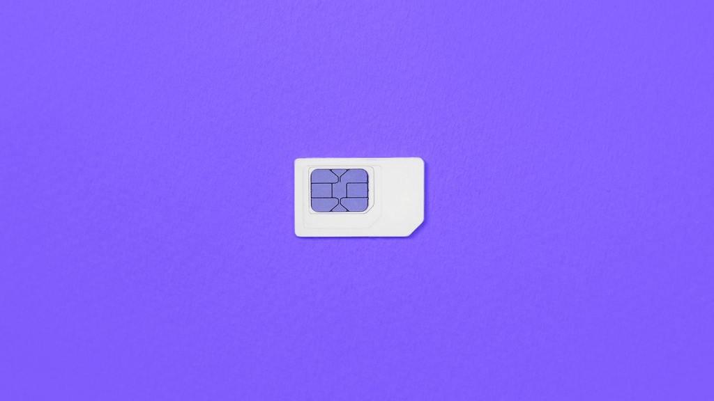 A Prepaid SIM Card