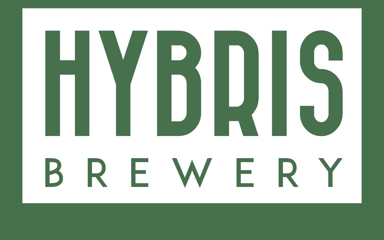Hybris Brewery vit logotyp