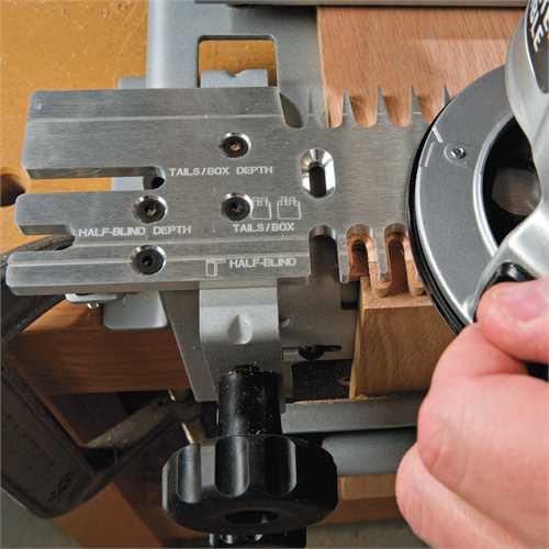 "... Details for 12"" Deluxe Dovetail Jig Combination Kit - Model # 4216"