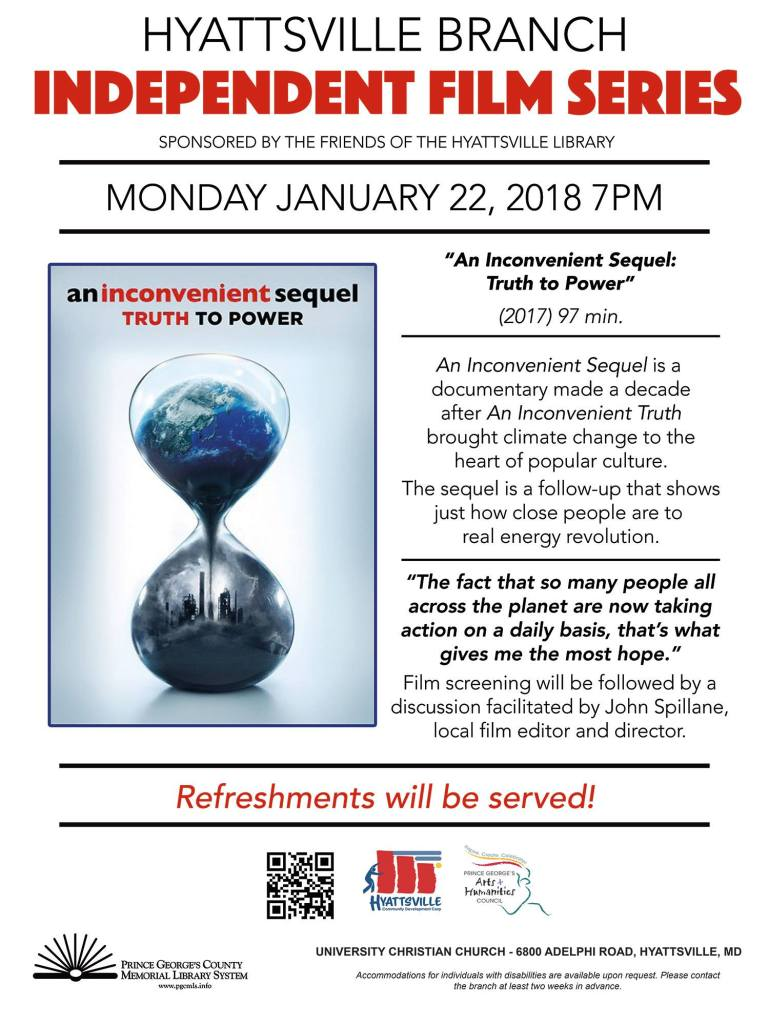 """An Inconvenient Sequel: Truth to Power"""" Film Screening – 01"""