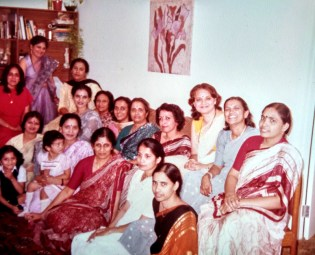 Indian Ladies association (my mother to the extreme right)