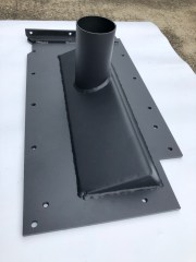 M122H Discharge Pan Side Front Angle