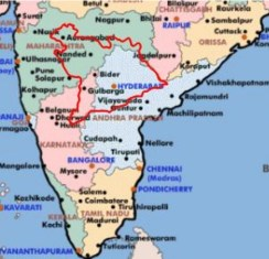 Formation of Andhra Pradesh – 1947 to 1956 | Hyderabad State