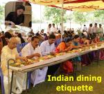 indian dining etiquitte