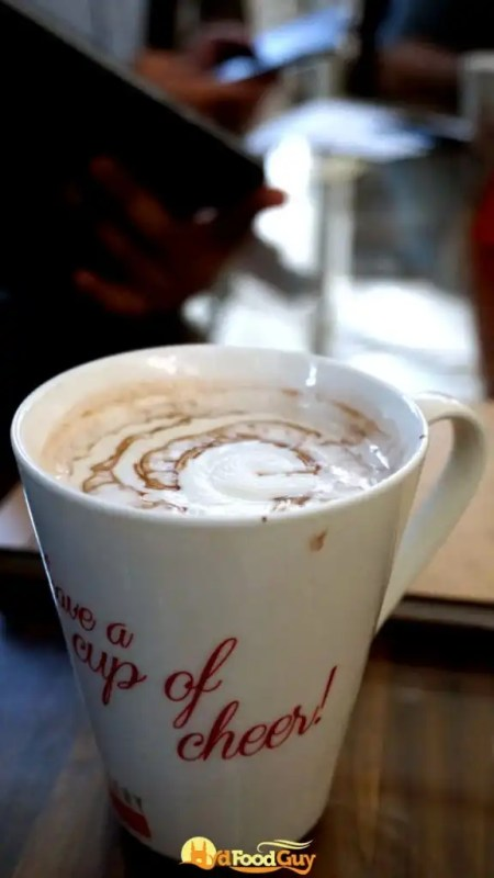 Gallery Cafe - Hot Chocolate - Sensodyne Food Walk