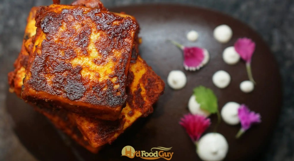 Patthar ka Paneer Tikka - Marriott Hyderabad
