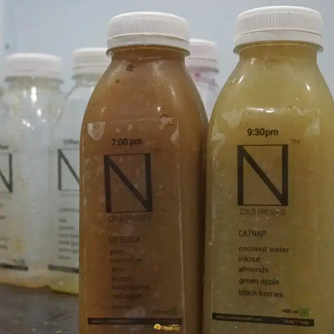 N Coldpressed - Final Juices of Day 1