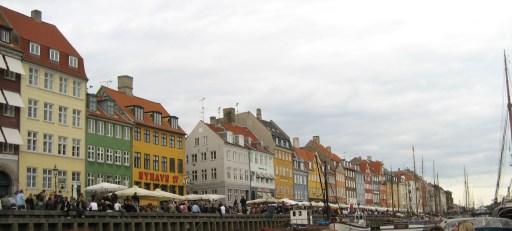 Nyhavn Area of Copenhagen - Site of 2008 & 2009 Conferences