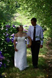 hydrangea ranch wedding