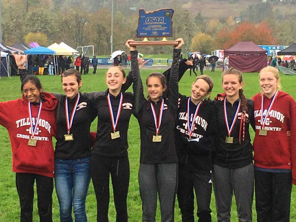 Tillamook Cross Country wins State.  Lunaria & double flowering petaled hydrangeas introduced.
