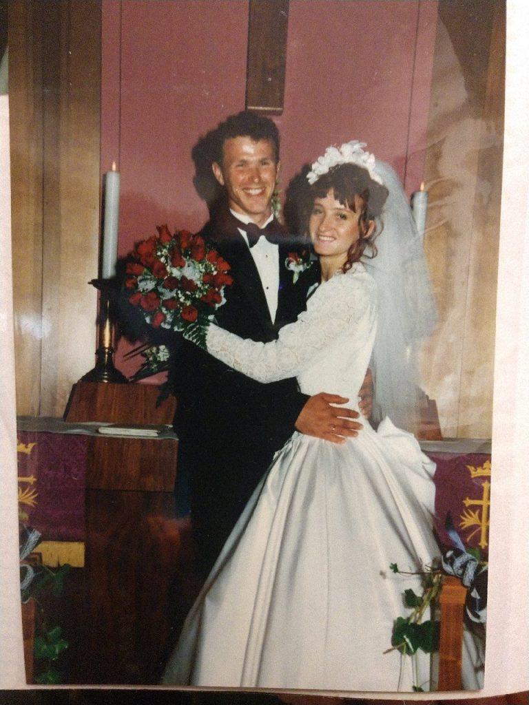 Patrick & Monika get married April 6, 1996