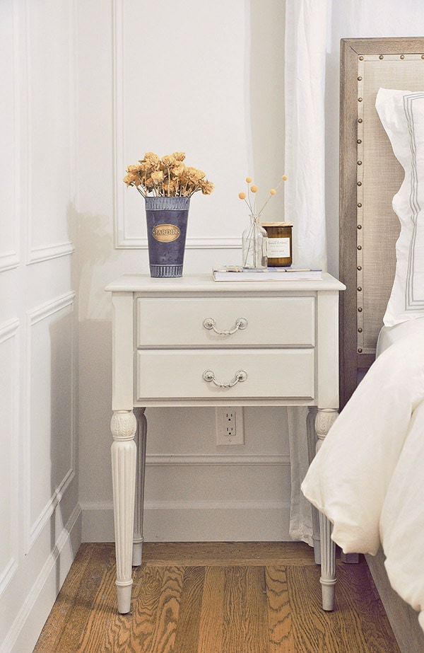 Nightstand Makeover How To Update An Old Looking