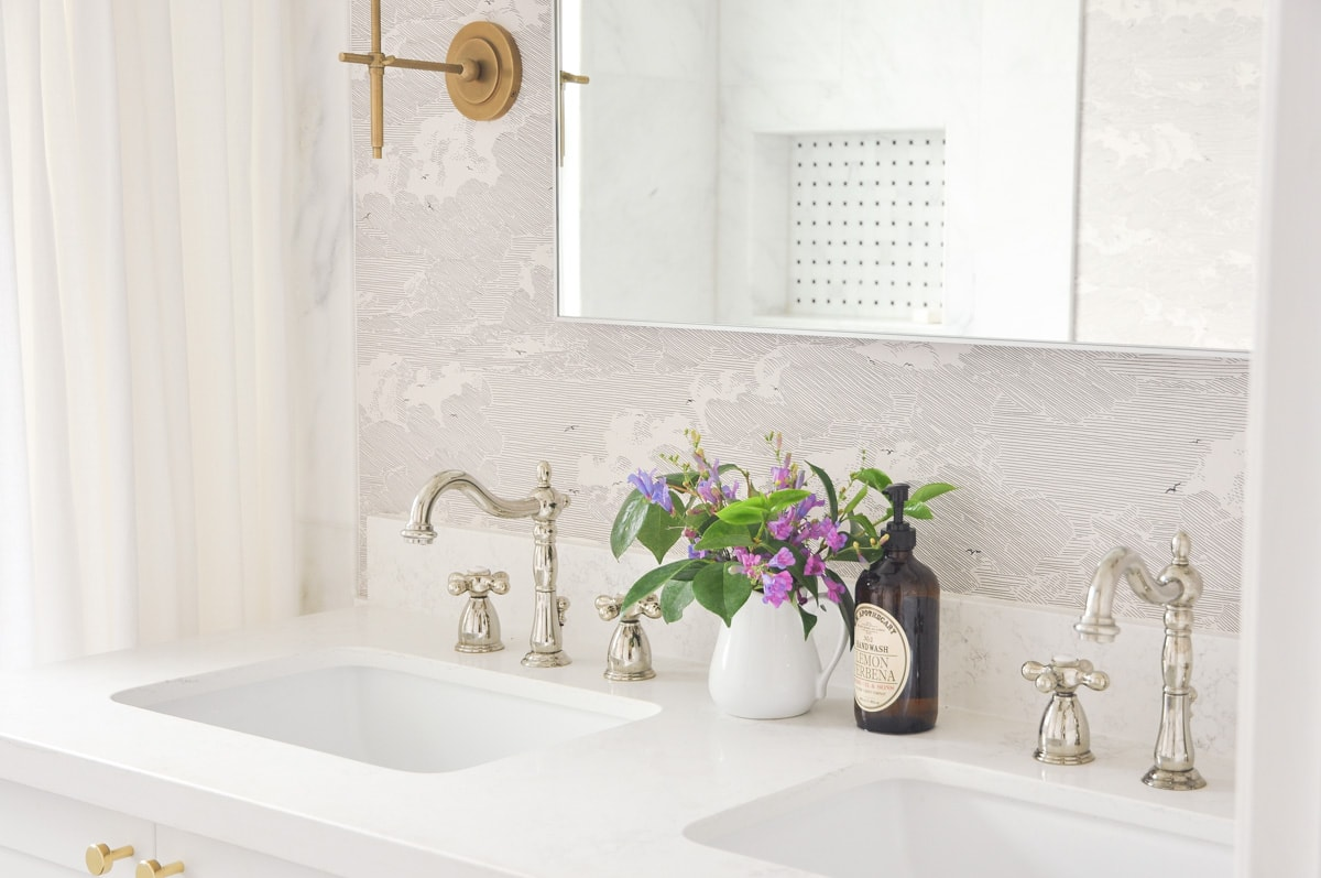 Master Bathroom Remodel Reveal And A Budget Breakdown - Hydrangea