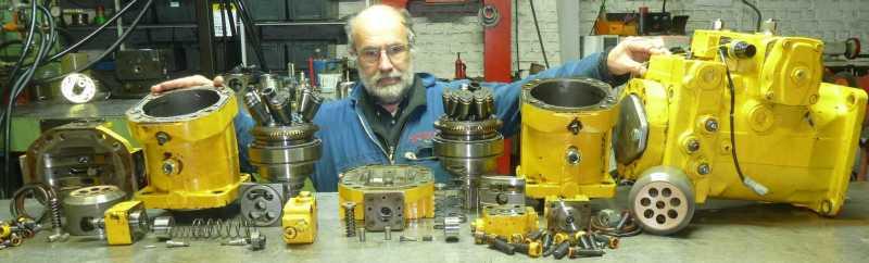retrotit pompe moteur rexroth