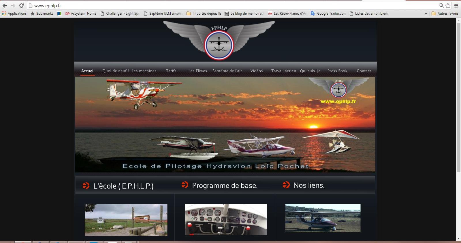ecole de pilotage EPHLP