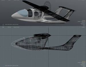 Design of the Morgann bi-beam for CALAMALO Aviation