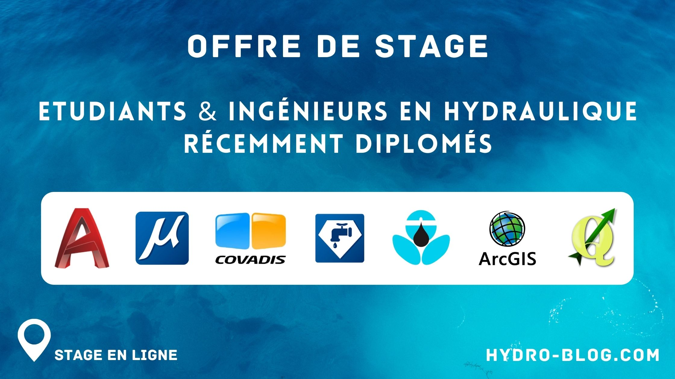 Read more about the article Offre de stage (Hydraulique)