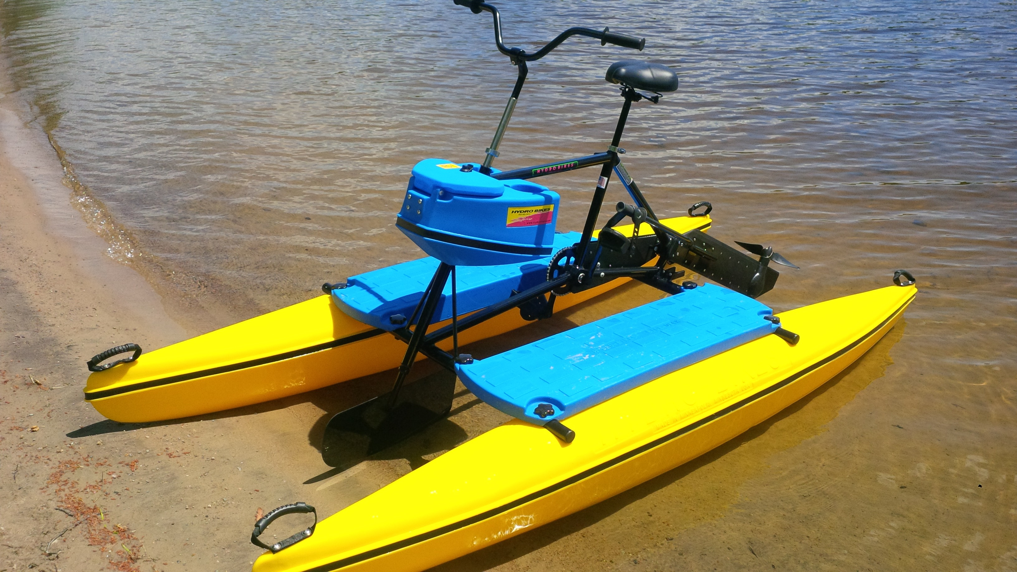Water Bikes By Hydrobike. USA Built. New & Used Hydrobikes