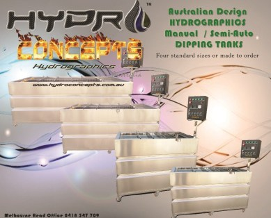 hydro dipping tanks