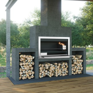 1200mm Premium Contractors Wood Braai