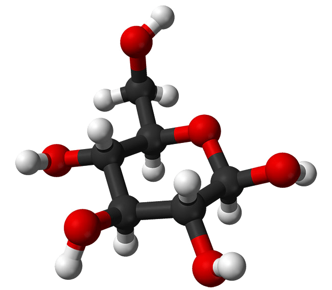 Glucose molecue icon