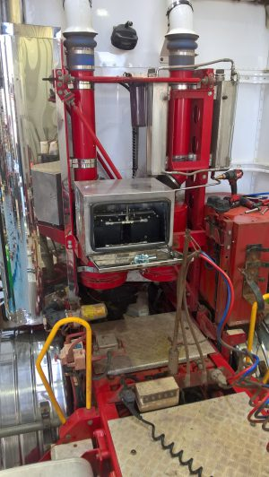 Twin Gen 20 hydrogenfuelsystems in STAINLESS steel mounted cogee chemicals truck