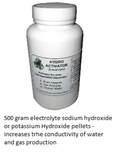 electrolyte for hydrogen gas production