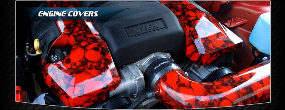 Hydrodip Engine cover Skulls