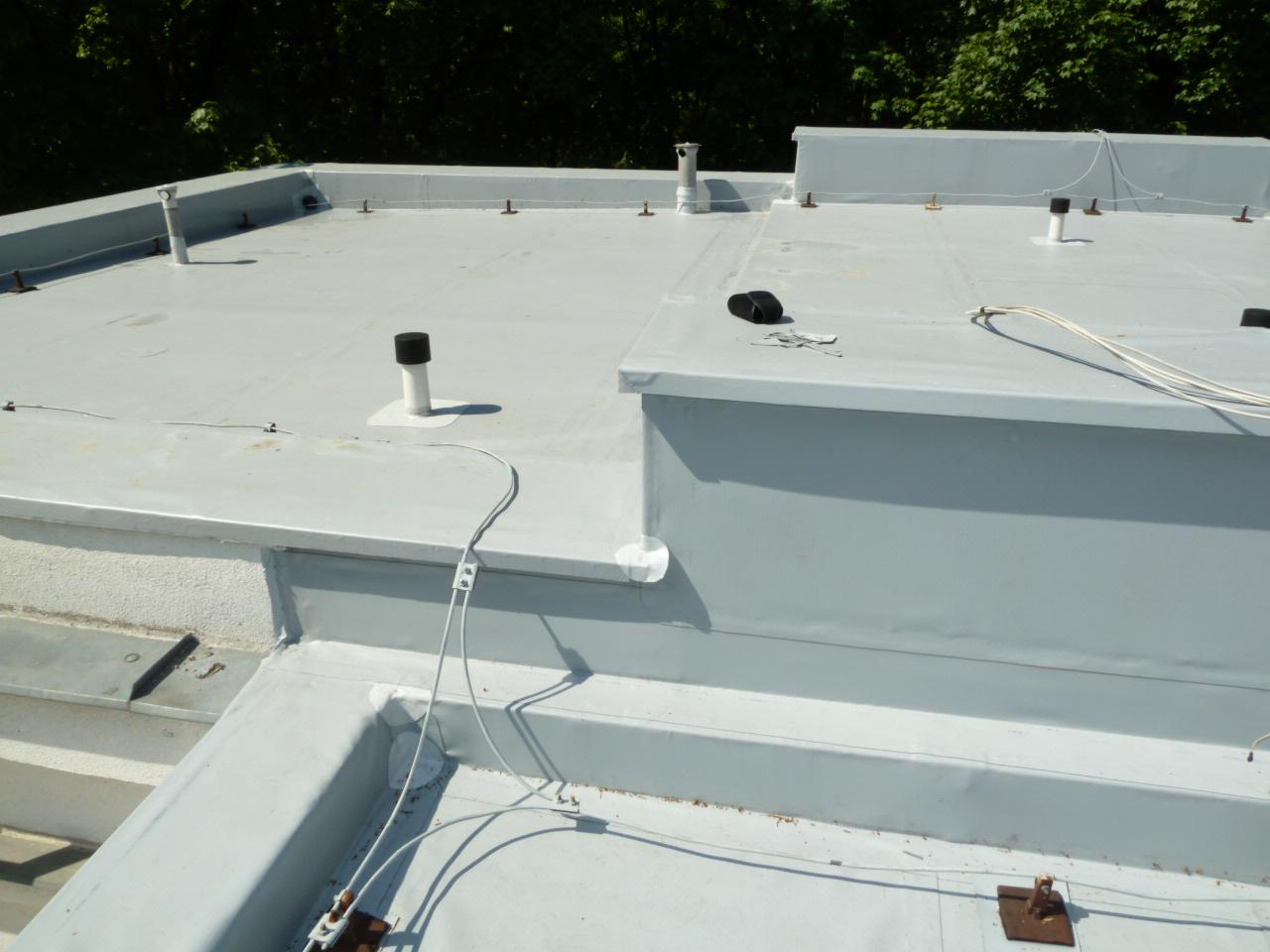 Hydroizolace střech