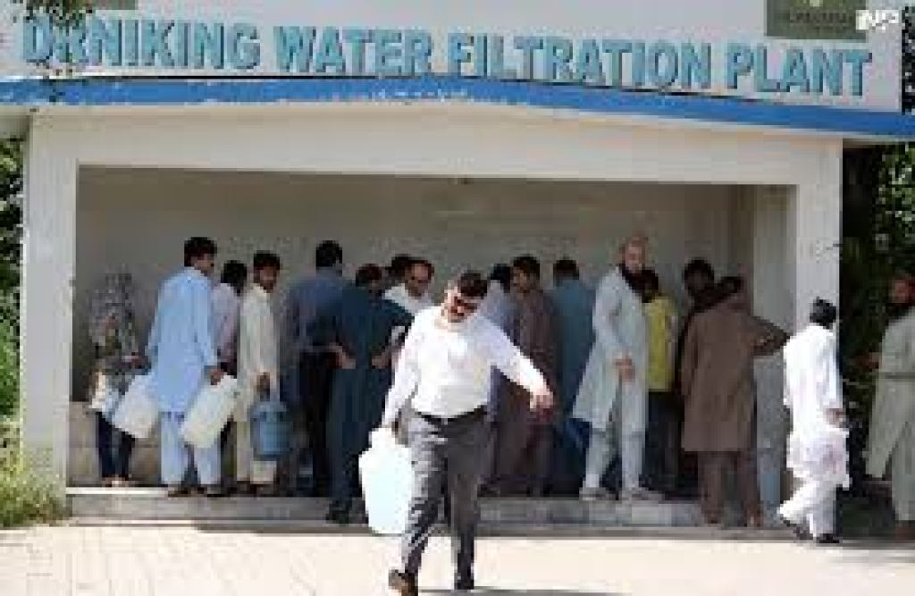 Community Water Filtration Plant