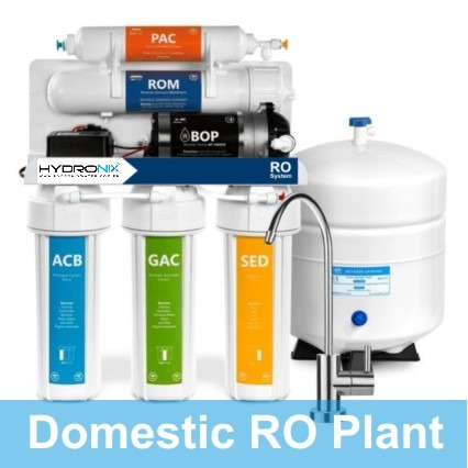 Hydronix 8 Stages RO Water Filter Plant
