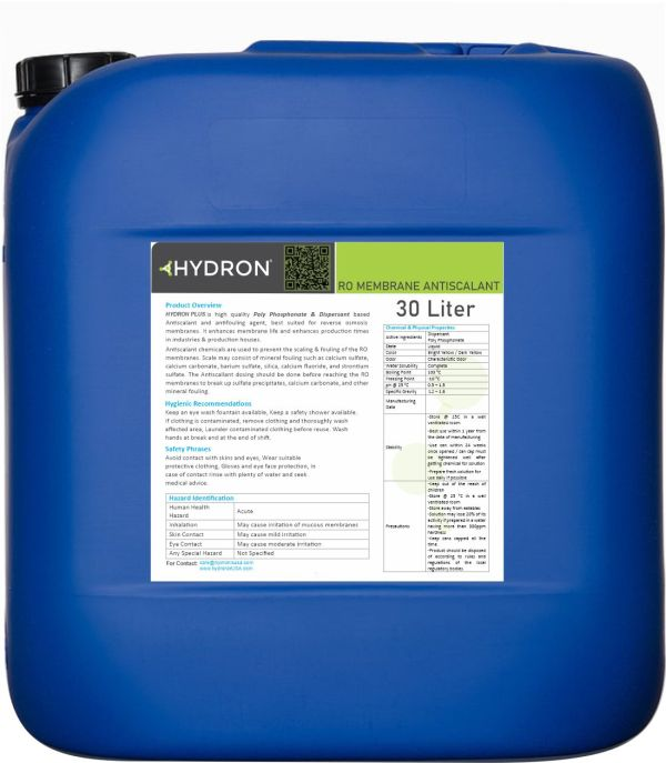Hydron-Membrane-Antiscalant-Packing