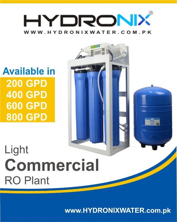 800 gpd ro plant