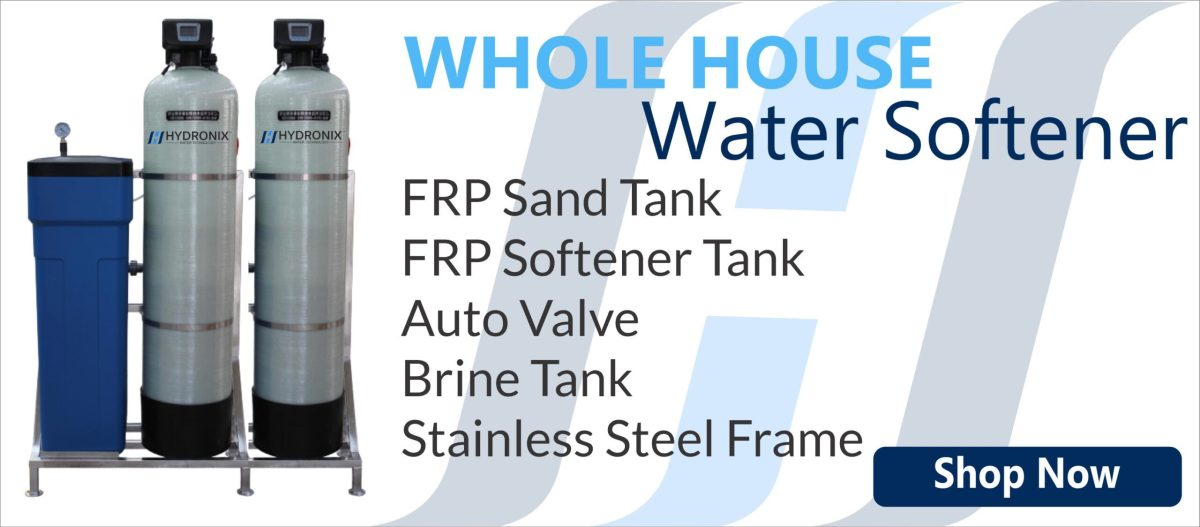 Whole House Water Softener with Sand Filter