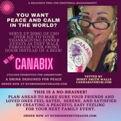Cannabix CBD beverage testimonial