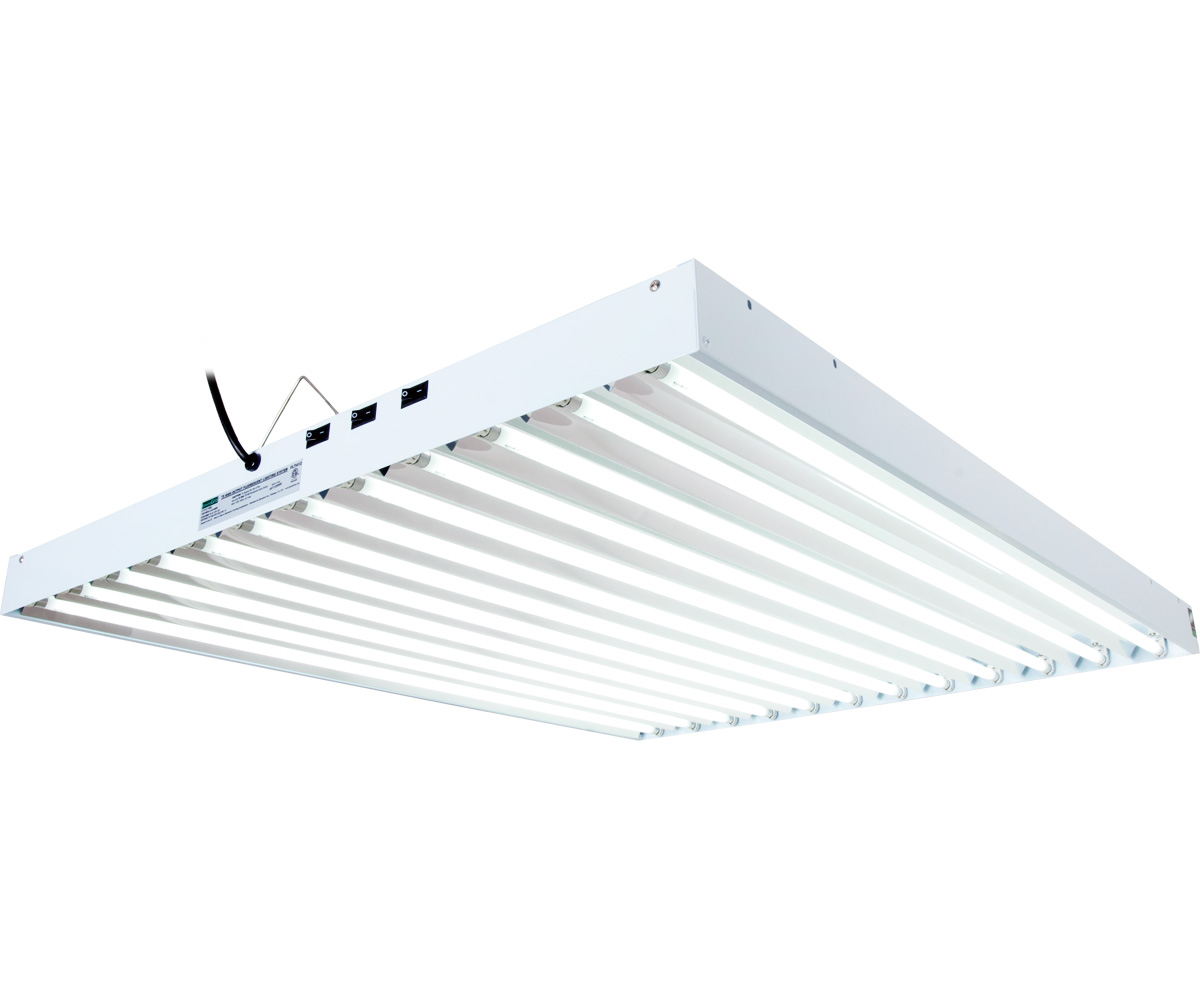 Agrobrite T5 648w 4 12 Tube Fixture With Lamps