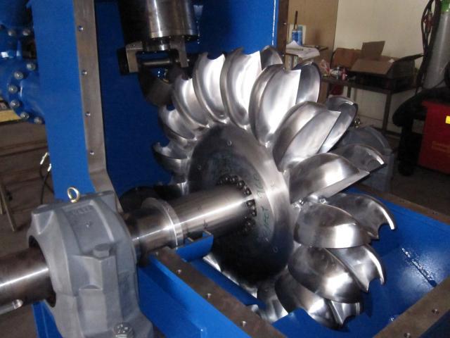 Pelton Turbine Hydro Power Plant